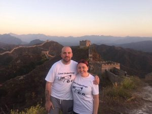 Trekking the Great Wall of China for Love Underdogs